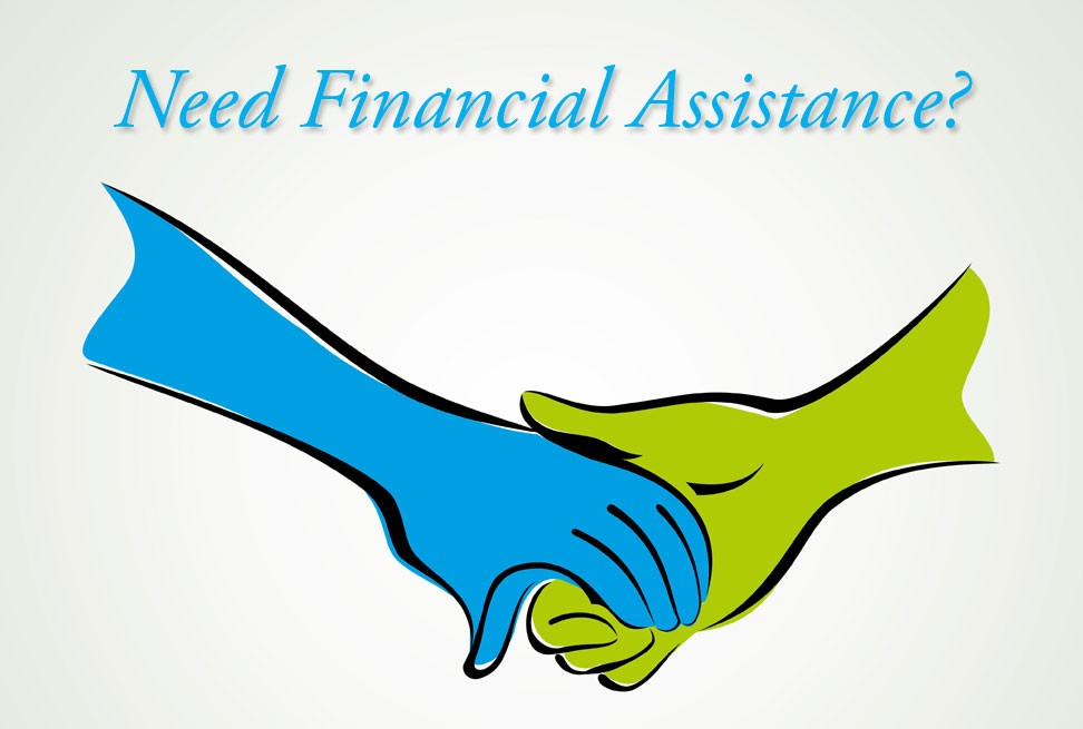 Need financial assistance  - holding hands